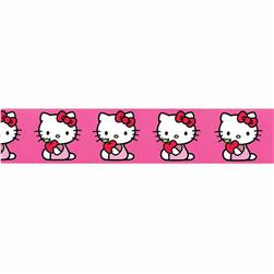 "7/8"" Hello Kitty Little Apple Ribbon Pink"