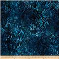 Artisan Batiks Wildlife Sanctuary Swamp Life Blue