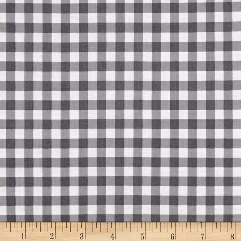 Maribel Check Grey Fabric by Windham in USA