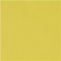 Italian Designer Cotton Poplin Window Pane Yellow