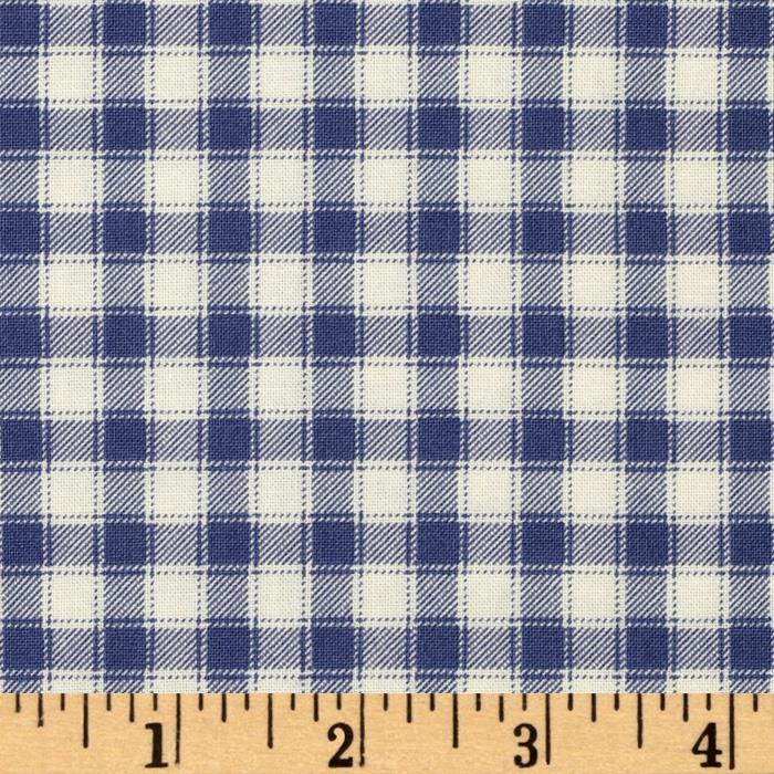 A Child's Garden of Verses Gingham Blue