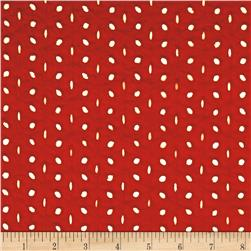 Eyelet Allover Eyelet Red