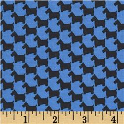 Michael Miller Scottie Houndstooth Sailor Fabric