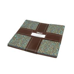 Robert Kaufman Fusions Regent 10 In. Layer Cake Multi