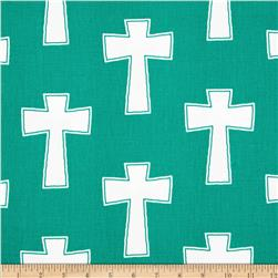 Premier Prints Cross Jade