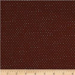 Ink & Arrow Pixie Square Dot Brown