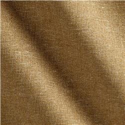 Robert Kaufman Essex Yarn Dyed Linen Blend Metallic Camel