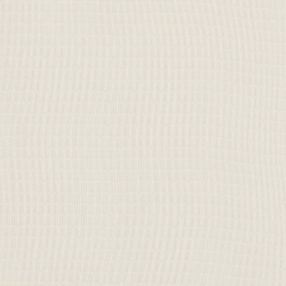 Eroica Check It Open Weave Sheer White