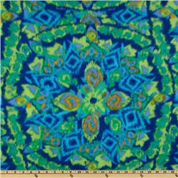 Novelty Fleece Starburst Blue