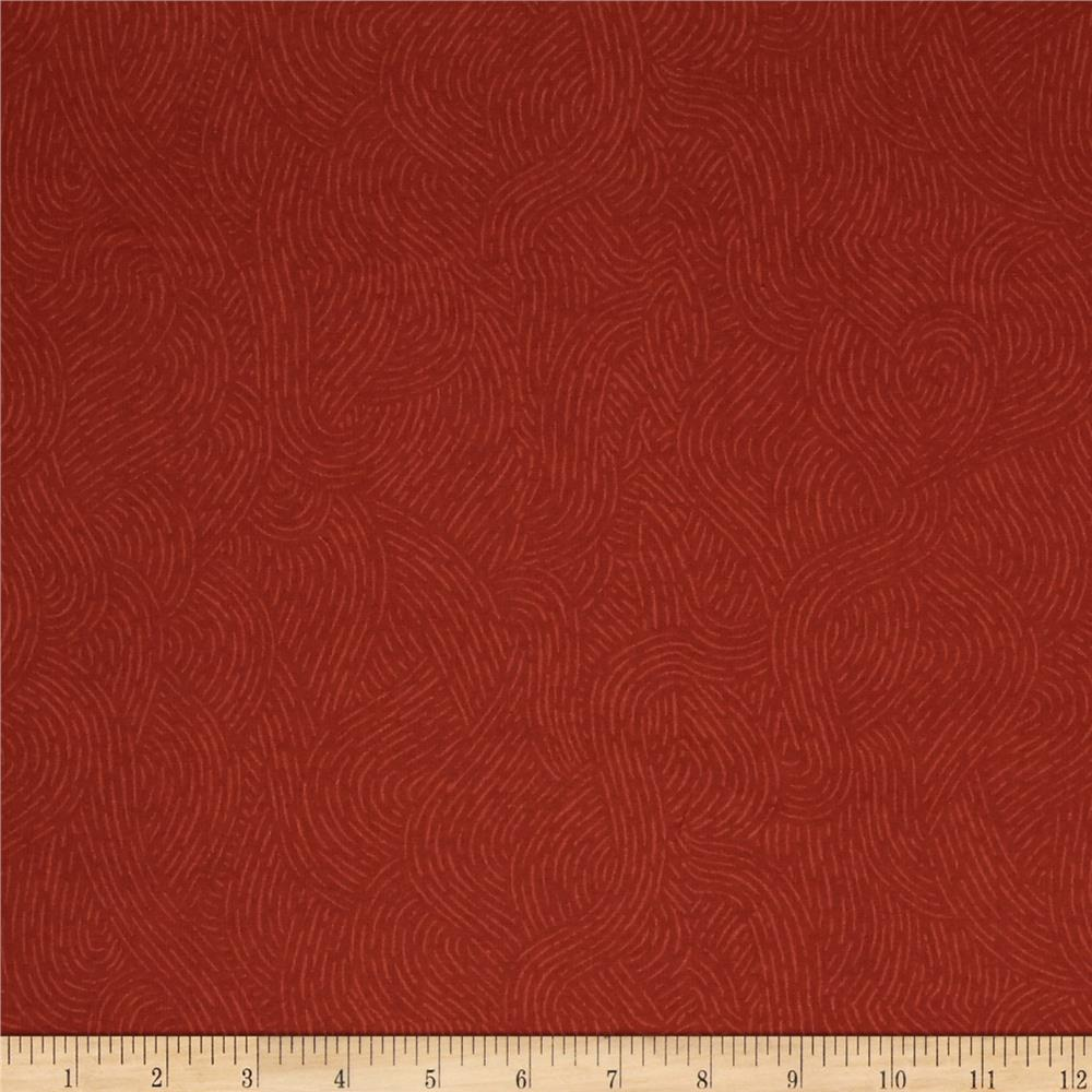 Westrade 110 wide flannel quilt backing seacoast orange for Quilting material