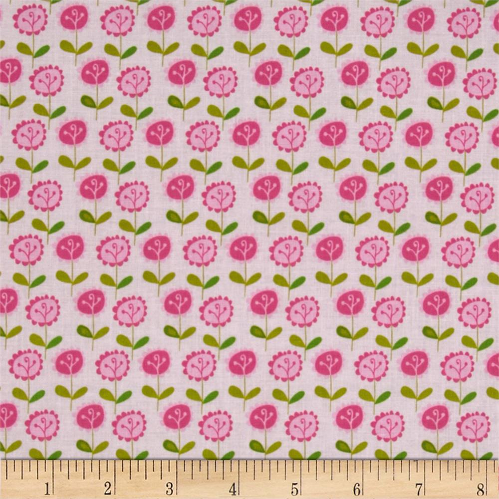 Riley Blake Summer Breeze Floral Pink