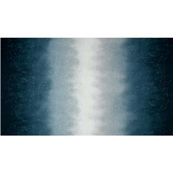 Enchanted Pines Sky Ombre Double Border Pewter