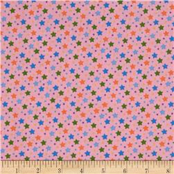 Baby Talk Stars Blue/Multi Fabric