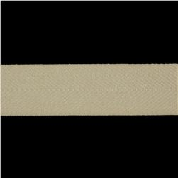 1 1/2'' Poly Twill Tape Ribbon Ivory