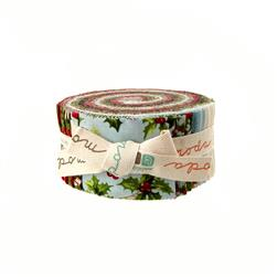Moda Season's Greetings 2 1/2'' Jelly Roll