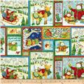 Winter Wonderland Metallic Patchwork Multi