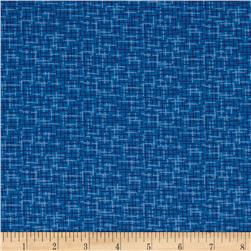 Kaufman Microlife Textures Digital Prints Plaid Blue