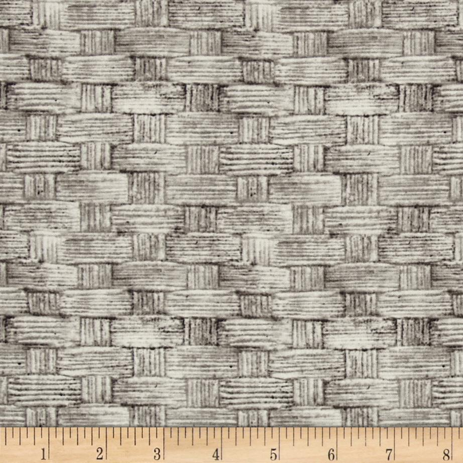 Tim Holtz Eclectic Elements Basket Grey