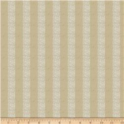 Jaclyn Smith Natural Stripe Blend Flax