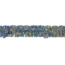 Team Spirit #30 Sequin Trim Silver Spot