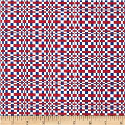 Salute to Summer Plaid Red/Blue