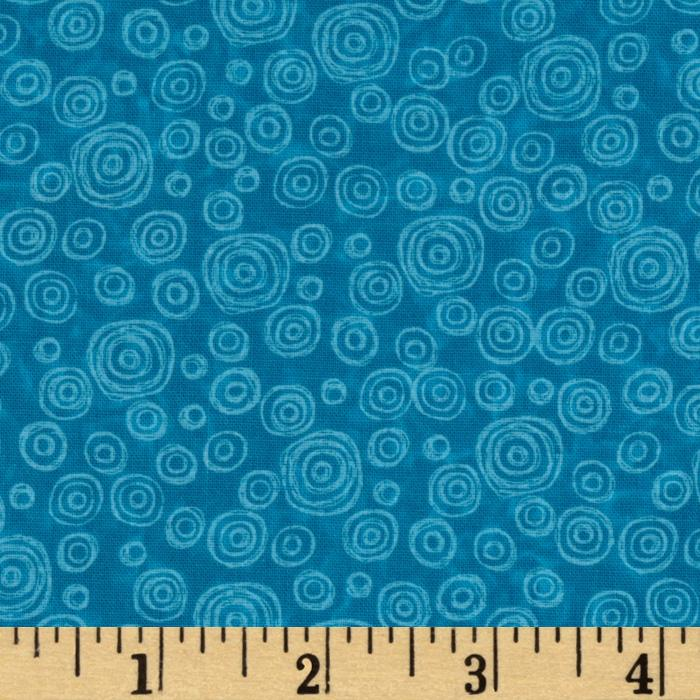 Wild Things Swirls Teal