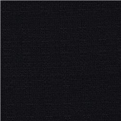 Linaire Crease Resistant Linen Look Black Fabric