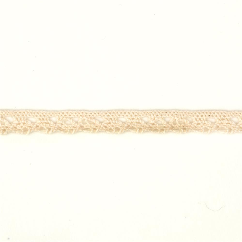 "3/8"" Crochet Trim Natural"