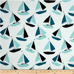 Tides Sailboat Blue