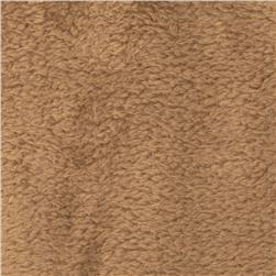 Whisper Coral Fleece Solid Taupe