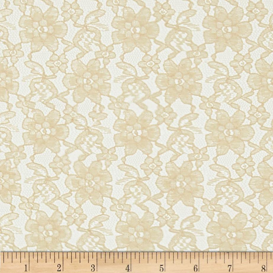 Raschelle Lace Champagne