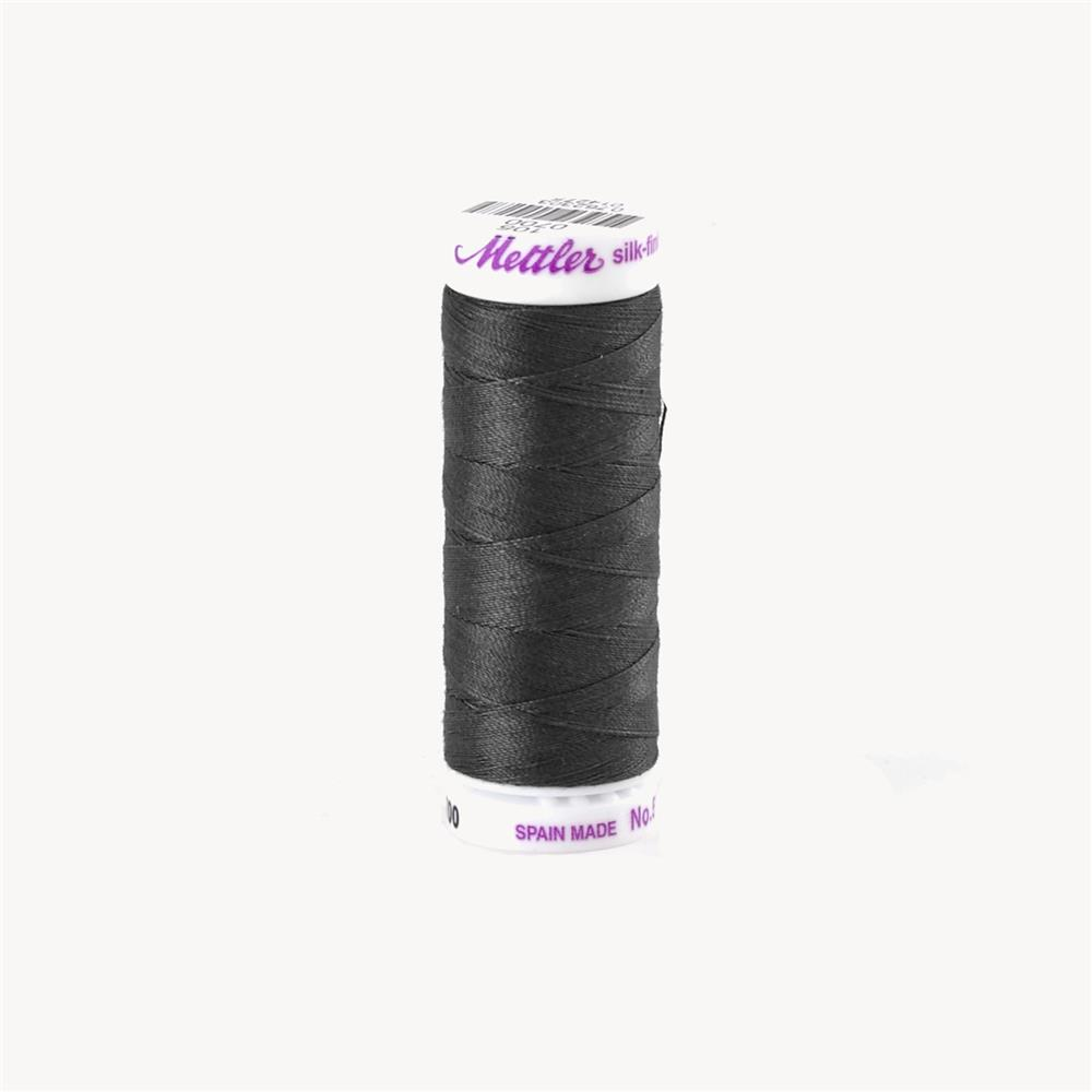 Mettler Cotton All Purpose Thread Obsidian