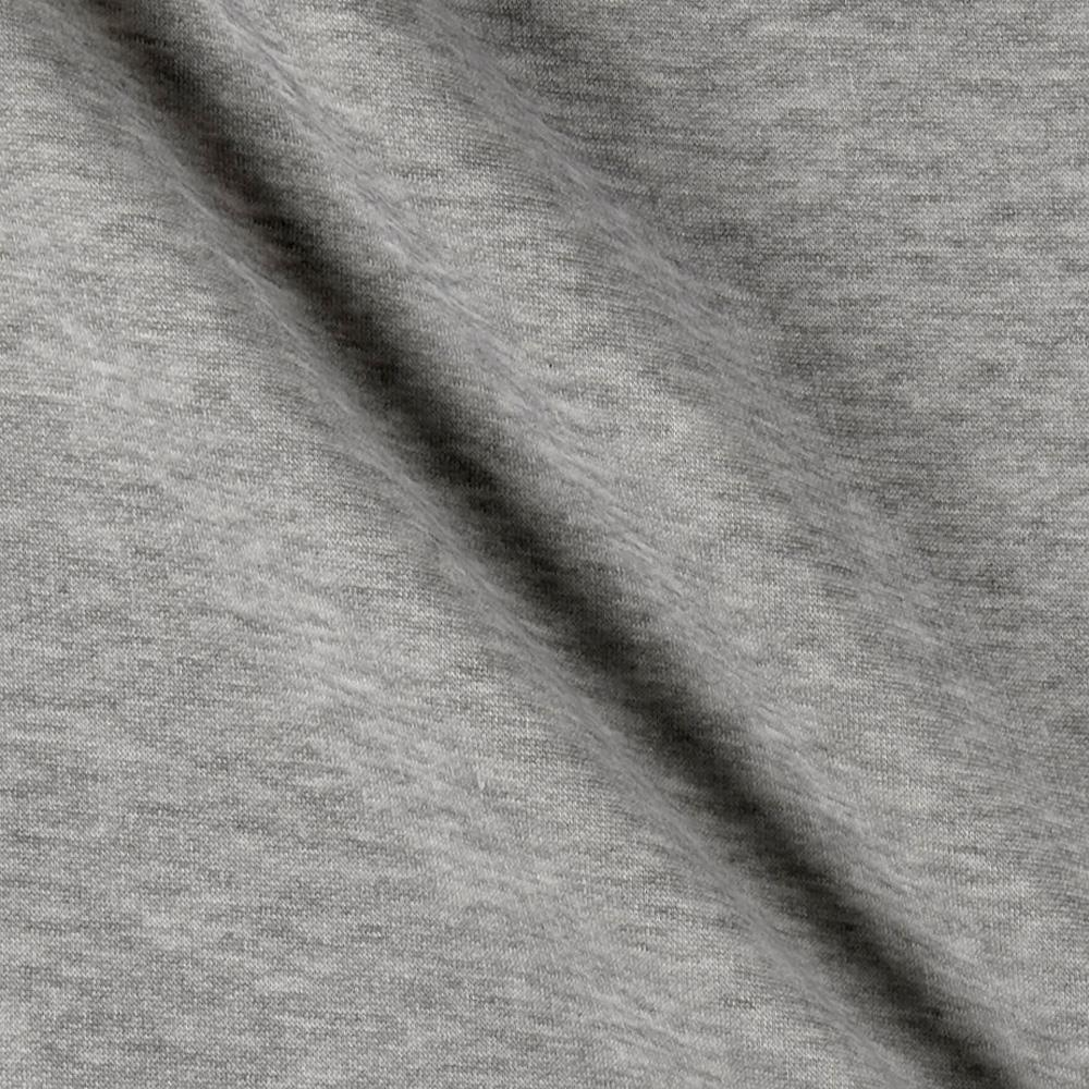 Sweatshirt Fleece Heather Grey Discount Designer Fabric