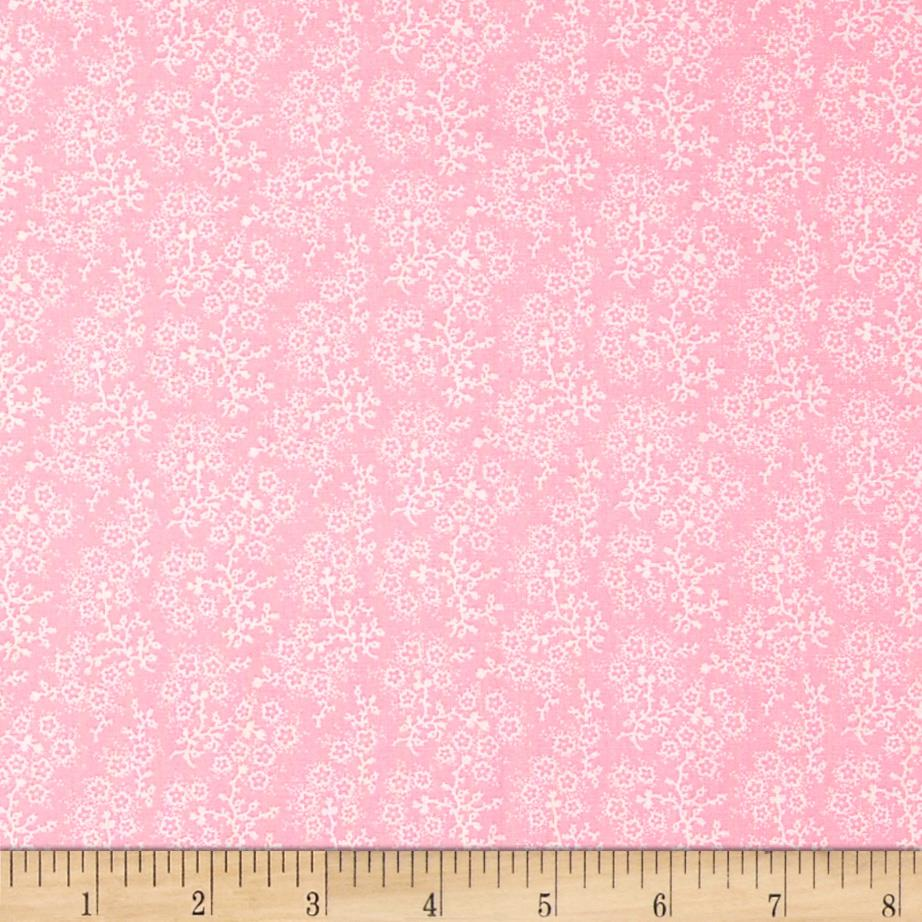 Mini Floral Pink/White