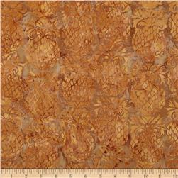 Island Batik Downtown Khaki Pineapple