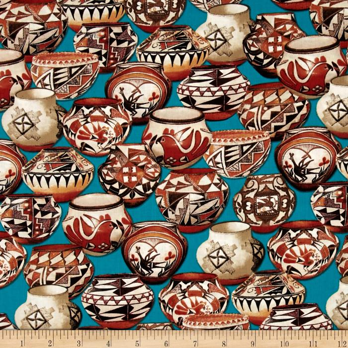 Trading Post Packed Pottery Turquoise