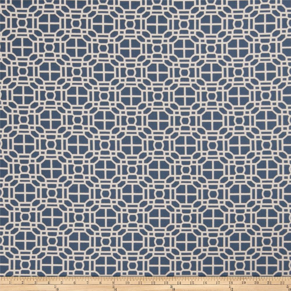 Jaclyn Smith 02602 Jacquard Indigo