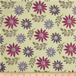 Robert Allen Promo Little Dahlia Jacquard Grey