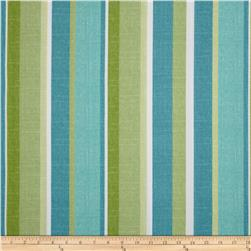 Maco Indoor/Outdoor Mila Stripe Aloe Fabric