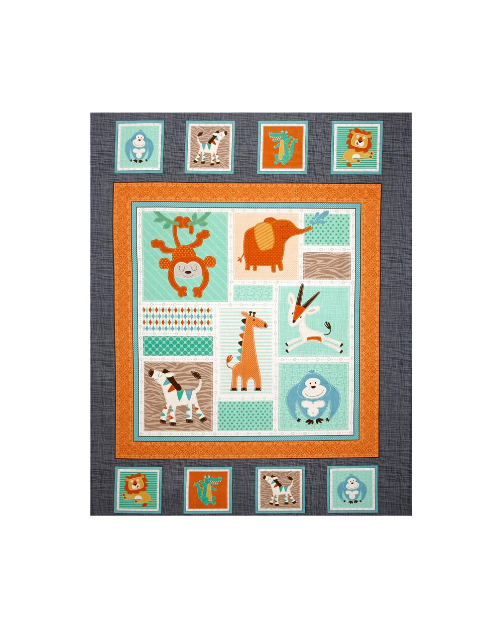 Swinging Safari 35 In. Panel Multi
