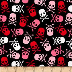 Punk Rock Skull Scatter