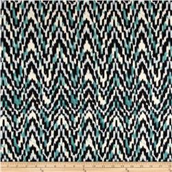Cotton Spandex Jersey Knit Sketch Mint Fabric