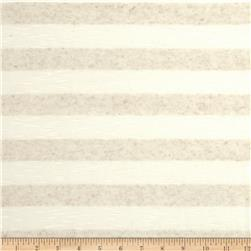 Tissue Hatchi Knit Stripes Oat/Cream