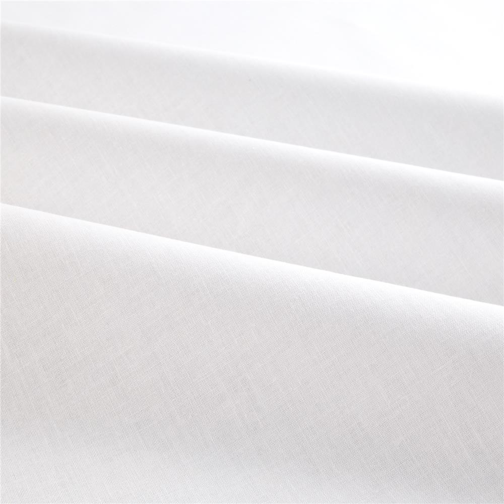 "118"" Poly Cotton Sheeting White Bleached"