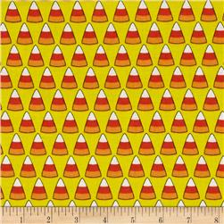 Spooky Candy Cones Yellow