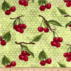 Summer Preserves Tossed Cherries Green