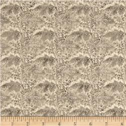 Arabella Rose Packed Floral Scrolls Beige