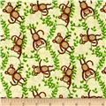 Safari Expedition Monkeys Ivory