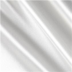 Silky Satin Charmeuse Solid Ivory Bone