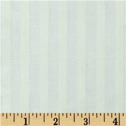 Gibson Vertical Striped Sheer Ivory Fabric